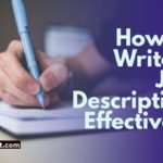 how to write a job description effectively