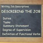 writing Job Description