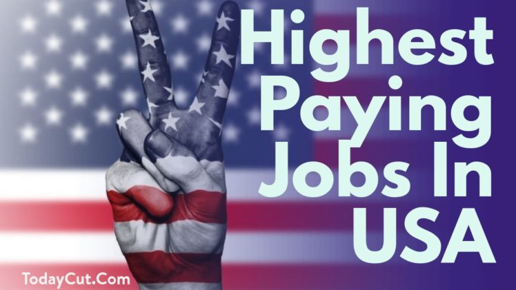 highest paying jobs in united states