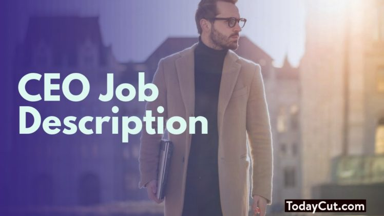 ceo job description