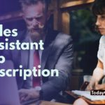sales assistant job description sample