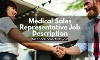medical sales representative job description sample
