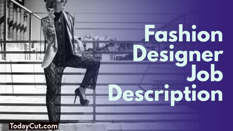 fashion designer job description