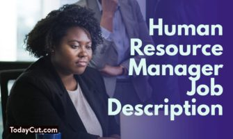 Human resource manager job description sample