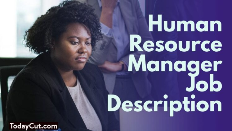 Human resource manager job description sample