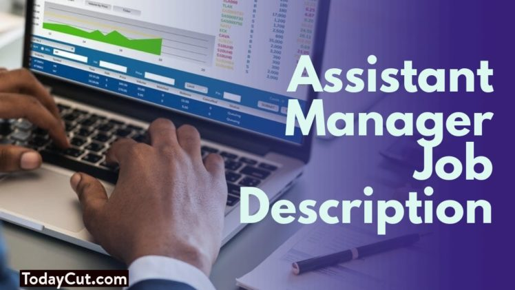 assistant manager job description