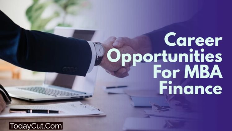 career opportunities mba finance