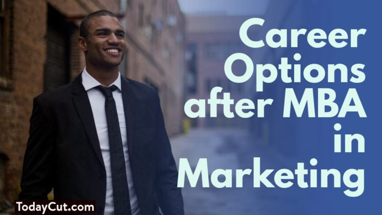 career options after mba in marketing