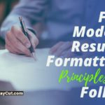 5 Modern Resume Formatting Principles to Follow