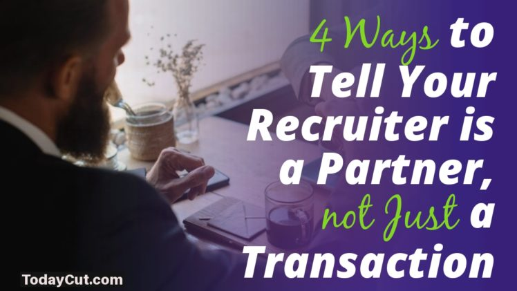 Recruiter is a Partner