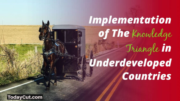 Implementation of The Knowledge Triangle in underdeveloped countries