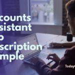 accounts assistant job description