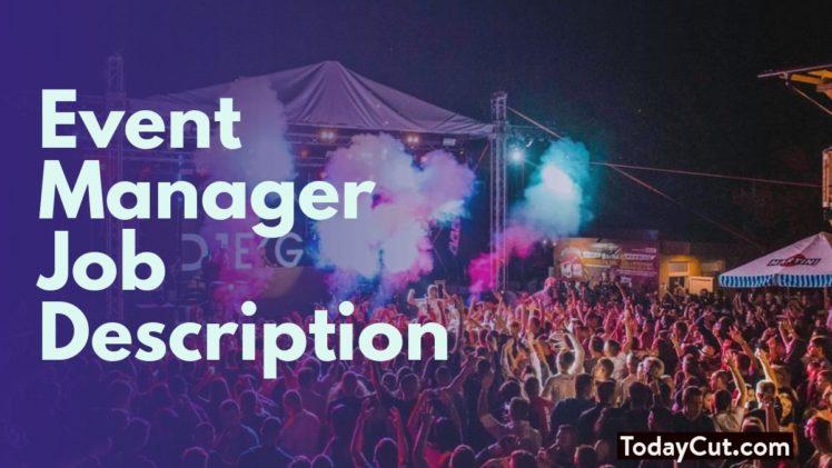 event manager job description