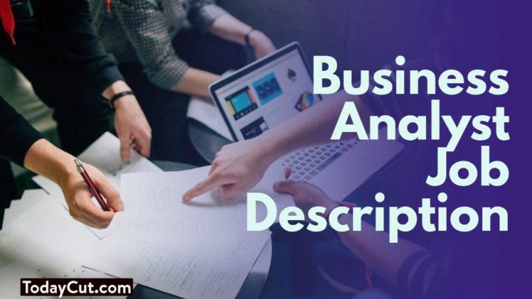 business analyst job description sample