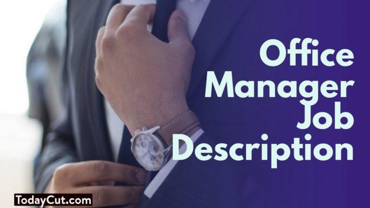 office manager job description