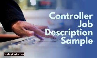 controller job description sample