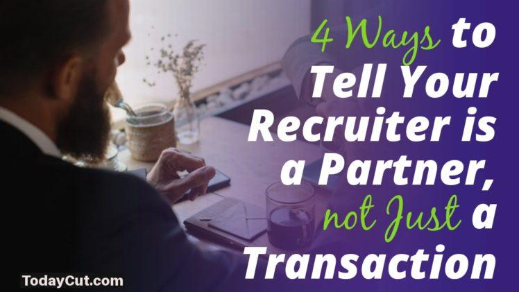 Recruiter is a Partner