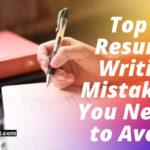 resume writing mistakes