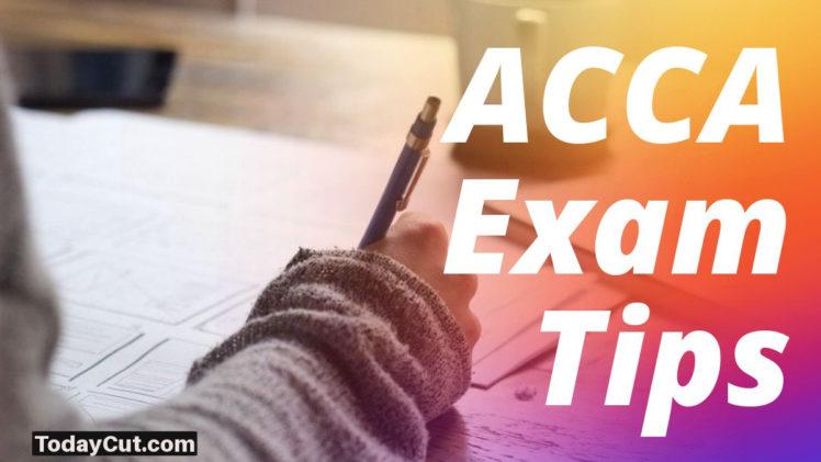 ACCA Exam Tips